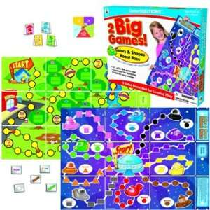 Publishing Two Big Games Colors and Shapes Robot Race: Toys & Games