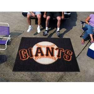 San Francisco Giants Merchandise   Area Rug   5 X 6