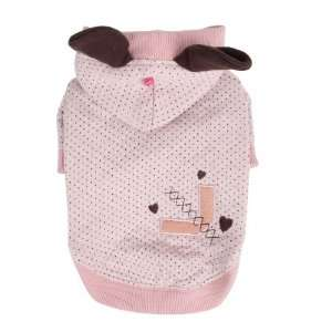 Pinkaholic New York Blossom Hoodie for Dogs, Large, Pink