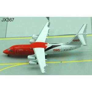 Jet X TNT BAe146 300 Model Airplane
