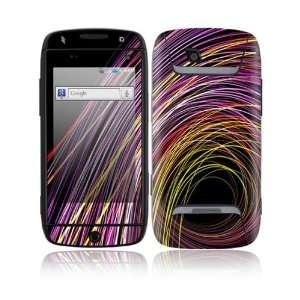 Color Swirls Decorative Skin Cover Decal Sticker for Samsung Sidekick