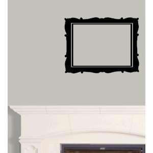 StikEez Black Picture Frame Art Wall & Window Decal