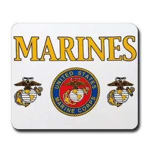 (Mouse Pad) Marines United States Marine Corps Seal