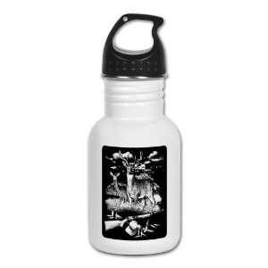 Water Bottle Deer Hunting Buck Doe Rifle and Hat: Everything Else