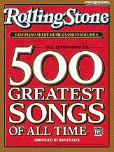 Rolling Stone« Easy Piano Sheet Music Classics Volume 1 39 Selections