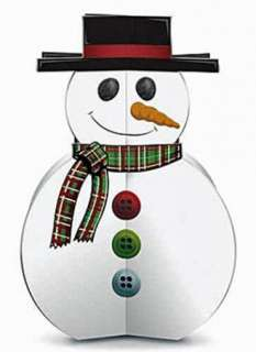 Kids KRAFT IT KIT ~ 3D SNOWMAN