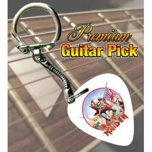 Iron Maiden The Trooper Premium Guitar Pick Keyring