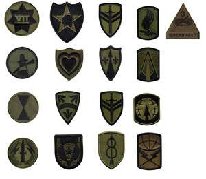 US Army Unit Insignia Patch Military Uniform Command Brigade Corps