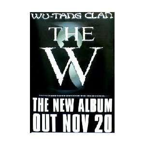Music   Rap / Hip Hop Posters Wu Tang Clan   The W   29