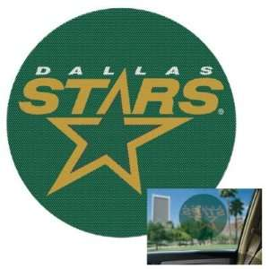 STARS OFFICIAL LOGO 8 PERFORATED WINDOW DECAL: Sports & Outdoors