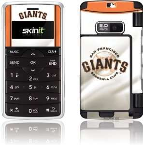 San Francisco Giants Home Jersey skin for LG enV2   VX9100