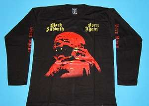 Black Sabbath   Born Again T shirt Long Sleeve