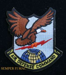 AIR DEFENSE COMMAND ADC PATCH NORAD US AIR FORCE