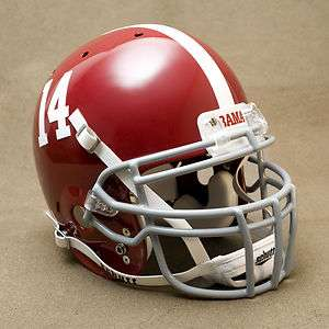 ALABAMA CRIMSON TIDE Authentic GAMEDAY Football Helmet #14