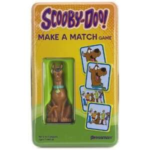 Scooby Doo Make a Match Game with a~3 Scooby Figure in a