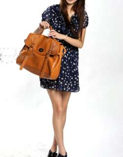 Womens Top Fashion Gossip Girl Messenger Bag Handbag Shoulder Bag