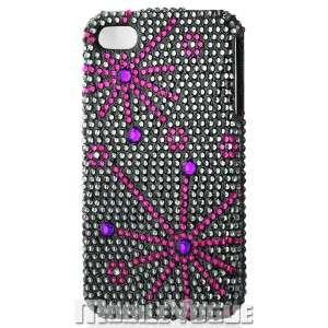 Bling Diamante Rhinestone Hard Case Cover For iPhone 4/4S AT&T Verizon