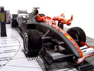 of 2006 Ferrari Michael Schumacher 248 F1die cast car By Hot Wheels