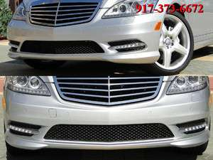 10 11 12 MERCEDES S S550 S65 S63 W221 AMG FRONT BUMPER V12 BITURBO NEW