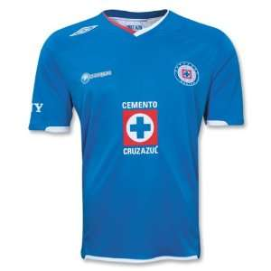 UMBRO Cruz Azul Home Jersey 09/10:  Sports & Outdoors
