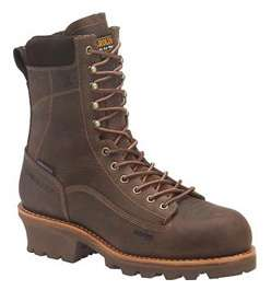 CAROLINA INSULATED WATERPROOF LOGGER BOOTS 13 E NEW AG7™ VIBRAM SOLE