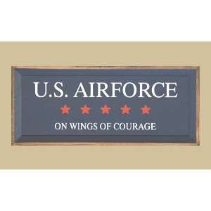 SaltBox Gifts I1023USAF US Air force On Wings Of Courage