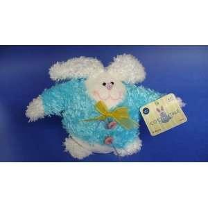 Plush Bunny Rabbit   blue/white 5 Toys & Games