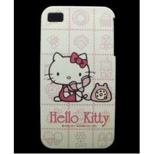 Hello Kitty iPhone 4 Hard Case   Hello Kitty Telephone