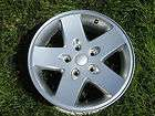 17 JEEP WRANGLER FACTORY ORIGINAL SILVER WHEEL OEM RIM 9074A #3