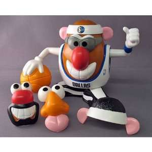 Dallas Mavericks NBA Sports Spuds Mr. Potato Head Toy