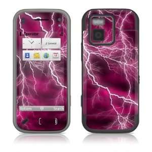 Pink Design Protector Decal Skin Sticker for Nokia N97 Mini Cell Phone
