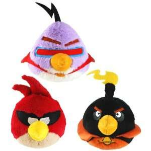 Angry Birds Space 16 Plush Set Of 3 Toys & Games