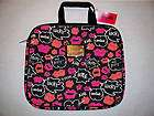 NWT Betsey Johnson Laptop Computer Bag/Case Pink Leopard Print