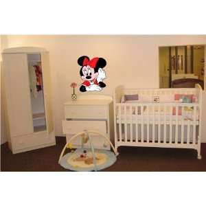 MICKEY MOUSE MINNIE KIDS CARTOON WALL COLOR STICKER MURAL