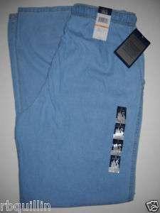 NWT GLORIA VANDERBILT Casuals Stretch Comfort Waist Blue Denim Pants 4