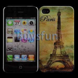 NEW Paris Style Eiffel Tower Hard Cover Back Case Skin For APPLE