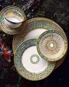 Royal Crown Derby Gold Aves Dinnerware