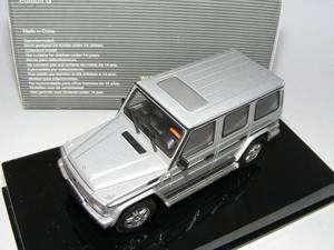 43 Auto Art Mercedes Benz GL Silver Dealer Edition