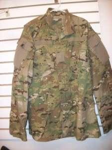 US Flame Resistant Multicam Uniform Shirt * EXC COND * MED LONG