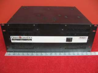 Peavey Legacy CA A800B Stereo Cinema Power amplifier |