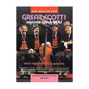 Great Scott Ragtime (Minus Violin) Zinn String Quartet Music