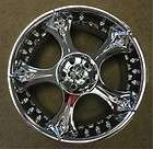 NEW 18 19 CHRYSLER CROSSFIRE SRT6 OEM FACTORY CHROME WHEELS RIMS 2249