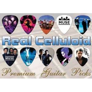 Muse Premium Guitar Picks X 10 (C) Musical Instruments
