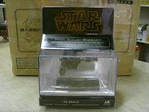 Star Wars Han Solo Blaster Replica SW 341 Factory Sealed