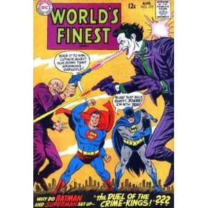 Worlds Finest Comics #177 Joker Cover (Worlds Finest Comics, Volume