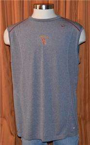 USC TROJANS NIKE PRO DRI FIT ATHLETIC SHIRT MENS XXL
