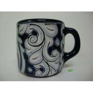 Mexican Talavera Ceramic Pottery Coffee Mug Mexico Art
