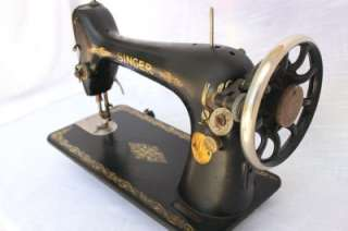 Vintage Singer Sewing Machine Model 66   1926 Treadle for Parts or