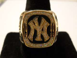 YANKEES REPLICA WORLD SERIES RING SGA 3/27/2012 SPRING TRAINING