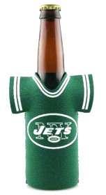 BEER/SODA BOTTLE JERSEY KOOZIE HOLDER NEW YORK JETS NFL